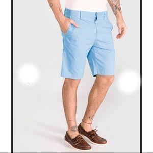 CALVIN KLEIN BLUE COMFORTABLE CHINOS SHORT PANTS